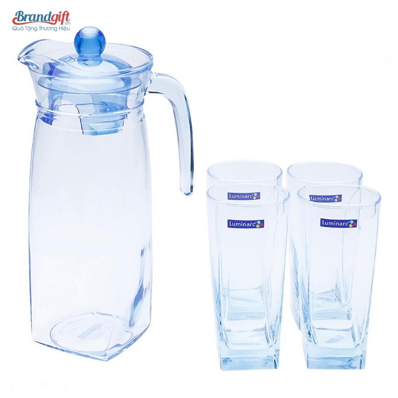 Bộ bình ly thủy tinh Luminarc L05558 tiện dụng