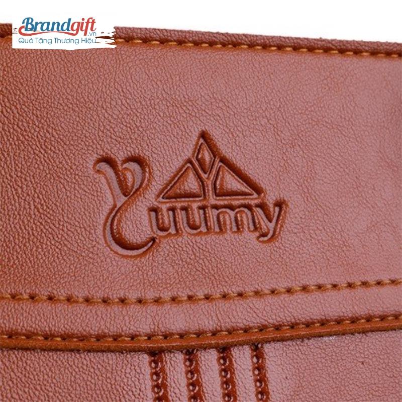 Cặp da công sở YUUMY 03 in logo