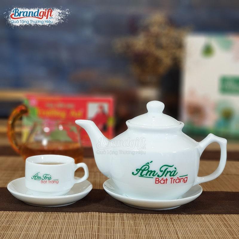 Bộ trà có in logo