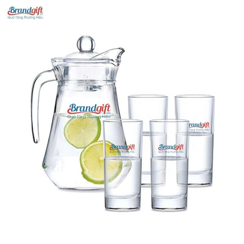 Bộ bình thủy tinh Luminarc đẹp in logo thương hiệu