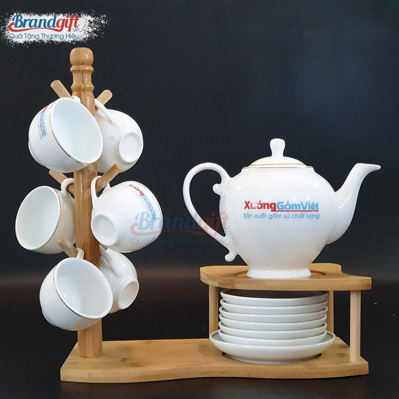 Bộ ấm trà viền kim ATK-60